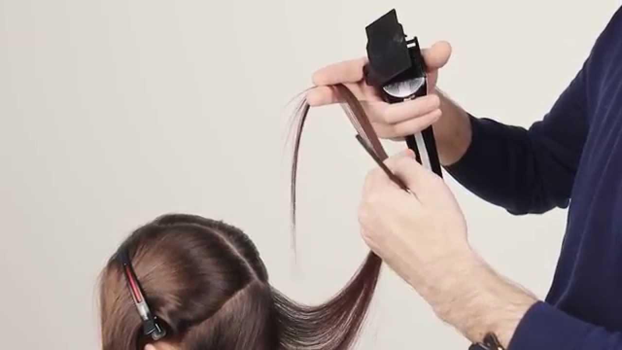 Полировка волос - YouTube