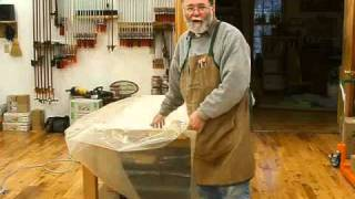 Making A Veneered Sideboard Part 5-1, Laminating Substrates: Andrew Pitts~furnituremaker