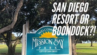 RV Resort Or Boondocking (Dry Camping) In San Diego - Mission Beach