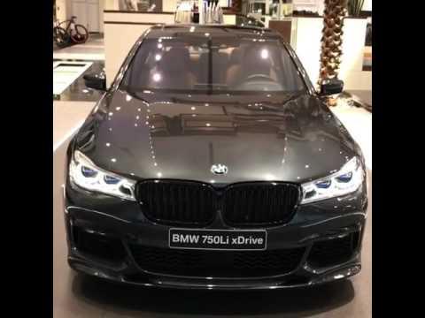 Singapore Grey BMW 750Li With M Performance Pack