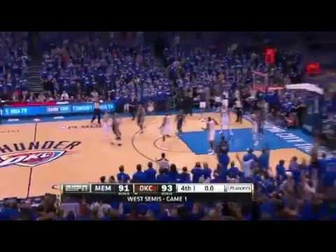 Memphis Grizzlies Vs Oklahoma City Thunder - NBA Playoffs 2013 Game 1 - Full Highlights 5/5/13