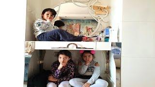 En Komik Saklambaç - Öykü and Masal hide and seek! Funny Kids Video