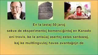 EO  Avantaĝoj de Dulingvismo de Renato Corsetti