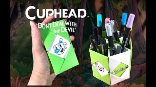 Cuphead Funny Things You Should Try To Do At Home | EASY CRAFTS FOR FAMILY AND FUN