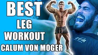 Best Leg Workout Calum Von Moger & The Titan Mike O'Hearn