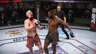 СРЕЗАТЬ ЛОКТЯМИ ГОЛОВЫ в МИРОВОМ ТОП РЕЙТИНГА ДЖОН ДЖОНС  НОКАУТЫ UFC 3
