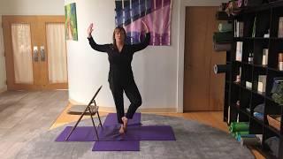 Prenatal Chair Yoga ( Part 2) with Jessie Novak