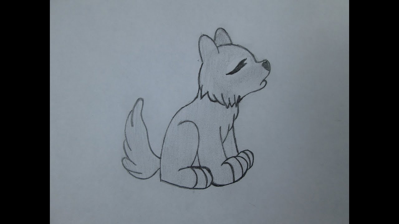Cmo dibujar un lobo aullando  YouTube