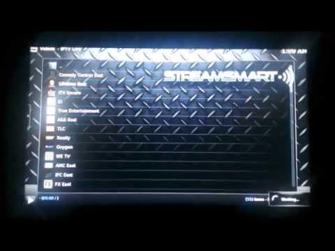 Streamsmart IPTV Entertainment Streams in Action