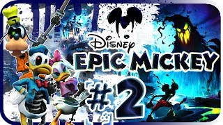Disney Epic Mickey Walkthrough Part 2 (Wii) Asia Boat Ride [No Commentary]