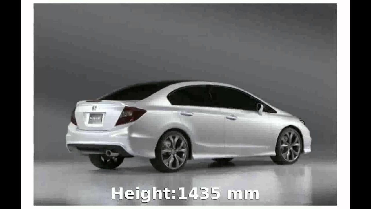 2011 Honda Civic Si Sedan   Specs And Specification
