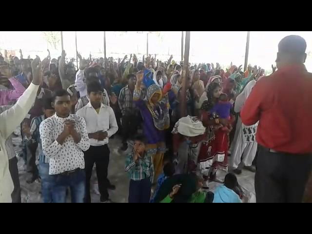 Cultos na India realizando pelo nosso pastor Sing,