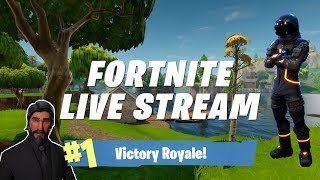 Time For Fortnite!! Running With The Squad Tonight! Running With The New Raven Skin!!