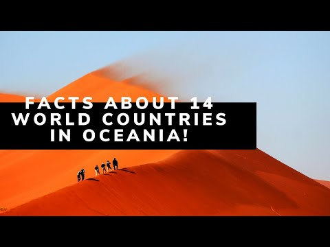Few Facts About World 14 Countries In Oceania ! | info spot