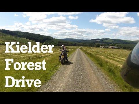 Kielder Forest Drive in Northumberland
