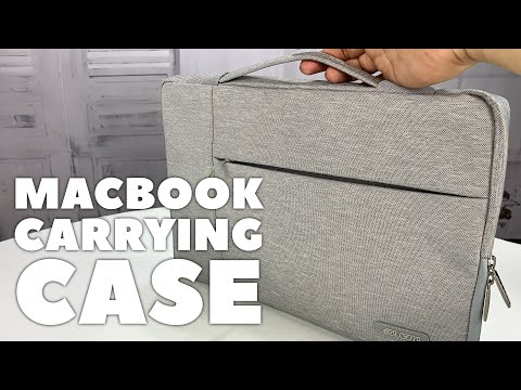 Sleek Macbook Pro Carrying Case with Handle by Mosiso Review