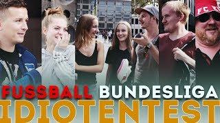 Fußball Bundesliga - IDIOTENTEST