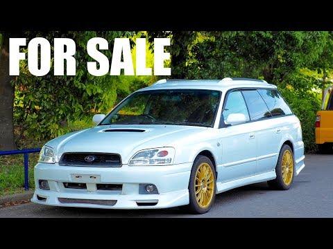 FOR SALE – 2002 Subaru Legacy 5-speed Twin Turbo GT-B  E-Tune