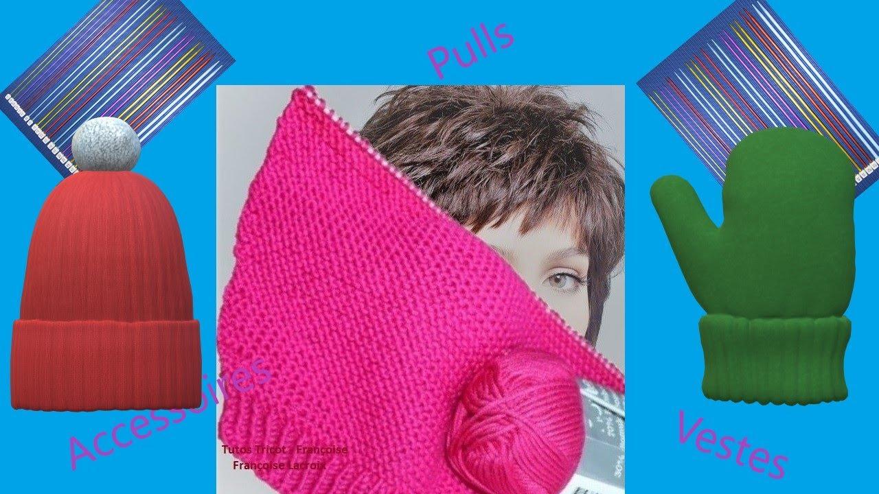 Mes créations de modèles de tricot Enfant - Femme - Homme (65) / Tutos tricot - Françoise