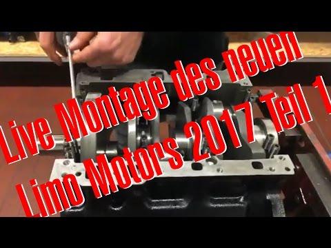 Live Montage des neuen RS4 Limo Motors bei BP Teil 1 mit Philipp Kaess von Hannover Hardcore