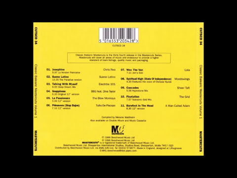 Various Artists - Classic Balearic Mastercuts Vol. 1 (FULL ALBUM) 1996