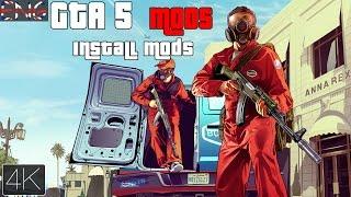 GTA 5 Pc Mod installation [ENG/4K]
