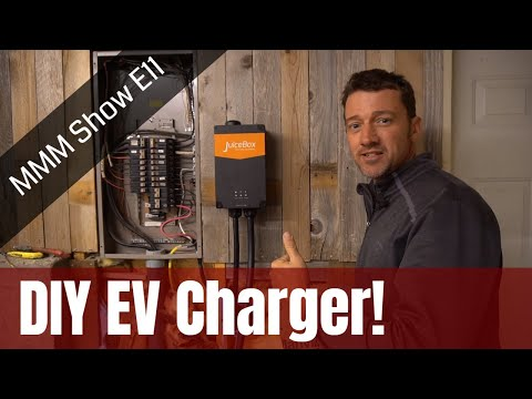 How To Install an Electric Car (EV) Charger - MMM Show Episode 11