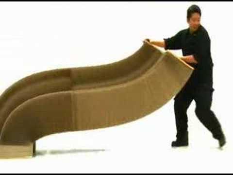 Flexible Love Chair A Taiwanese Design Youtube