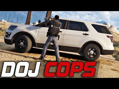 Dept. of Justice Cops #414 - Stringer Life
