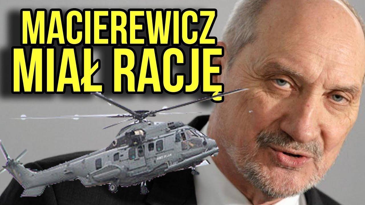 AFERA: Macierewicz Miał Rację – 75% Śmigłowców Caracal NIE LATA – Są Zepsute a Naprawa ZA DROGA