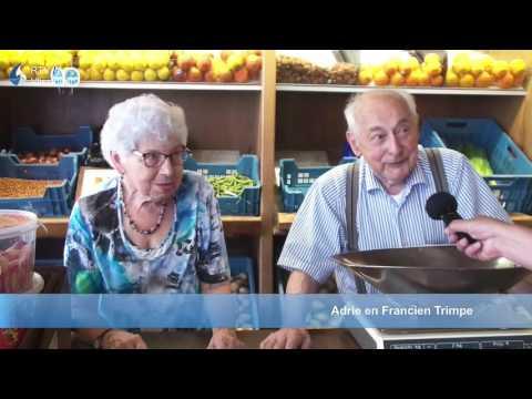 Adrie Trimpe 65 jaar groenteman