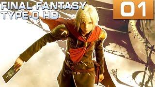 Final Fantasy Type-0 HD - Gameplay #01 - O Início [PS4] [PT-BR]