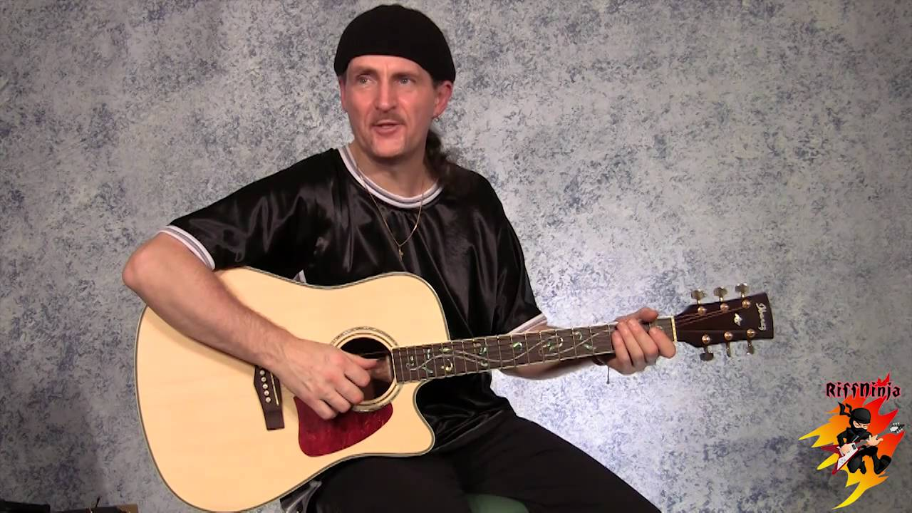 Cool Acoustic Guitar Riffs In C Major A Minor Youtube