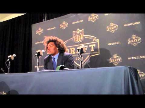 Leonard Williams Interview NY Jets On Shoulder Problem At NFL Draft