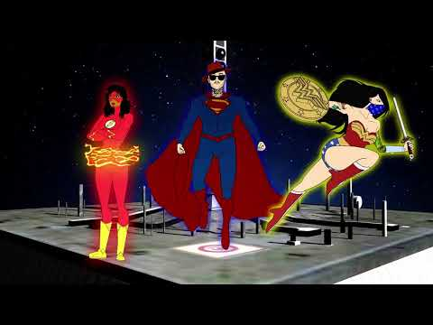 @BOSSCLUBCRE8S - The Justice Society Animation