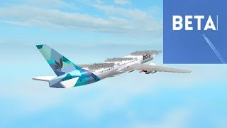 PREMIUM ECONOMY | Beta Fleet - B772 | ROBLOX