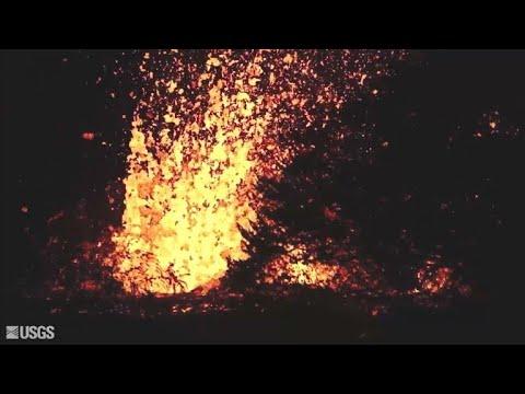 Lava de vulcão no Havaí obriga evacuações