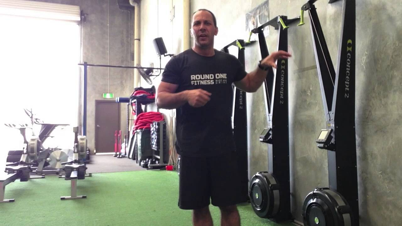 Round 1 Fitness How To Use A Ski Erg Youtube