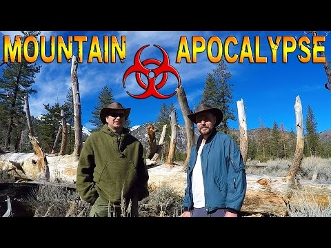 Overnight Survival in the Mountains (Ep.1)(Outdoor Adventures)
