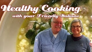 Rich, Brown Chicken Stock ..::.. Healthy Cooking With Your Friendly Italians #04