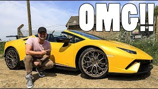 FIRST DRIVE IN 2018 LAMBORGHINI PERFORMANTE SPYDER!!