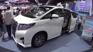 Video Review luxury MPV Toyota Alphard 2015, 2016