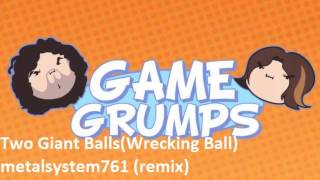 Repeat youtube video Game Grumps - Two Giant Balls (Wrecking Ball Parody)