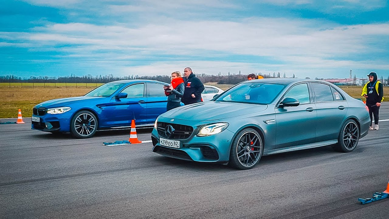 Купил УБИЙЦУ ГТР! BMW M5 860 hp против MERCEDES E63s AMG и NISSAN GTR