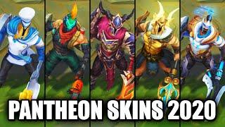 All Pantheon Skins Spotlight 2020 (League of Legends)