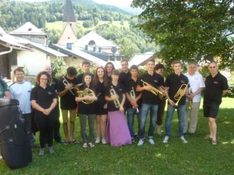 English Brass Academy tour of Austria August 2014