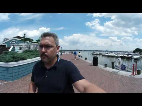 Grabando en 4K con la Samsung Gear 360 en Old Town Virginia