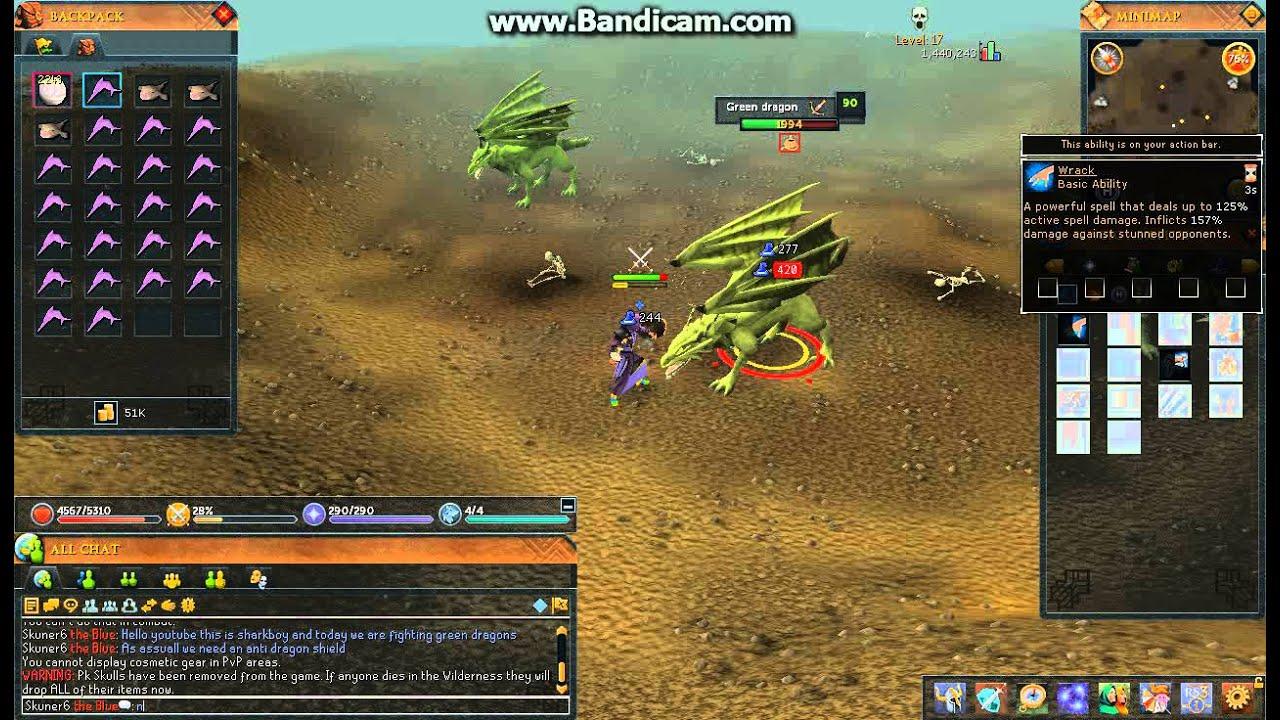 Runescape Green Dragon Guide