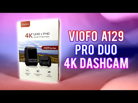Viofo 4k Duo Dashcam Review