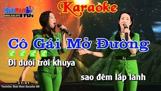 Karaoke Nhạc Sống Cô Gái Mở Đường